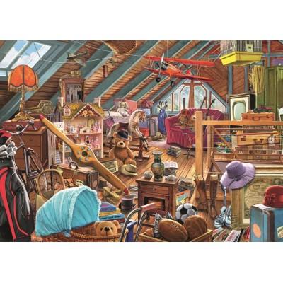 Puzzle Steve Crisp Toys In The Attic Jumbo 11128 1000