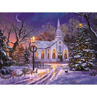 Christmas Jigsaw Puzzles.Dominic Davison The Old Christmas Church