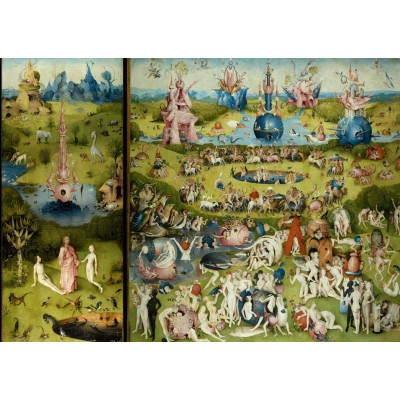 Hieronymus Bosch , The Garden of Earthly Delights