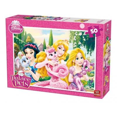 Puzzle Disney Princess Palace Pets King Puzzle 05314 A