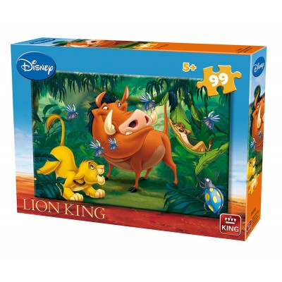 Puzzle The Lion King King Puzzle 05693 B 99 Pieces Jigsaw