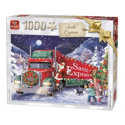 Christmas Jigsaw Puzzles.Santa Express Christmas