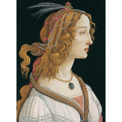 Puzzle Sandro Botticelli Portrait Of A Young Woman 1494