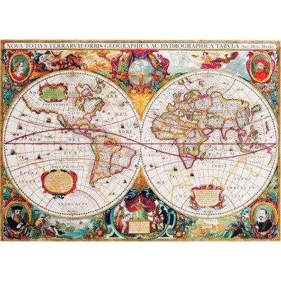 Puzzle old world map gold puzzle 60096 1000 pieces jigsaw puzzles puzzle gold puzzle 60096 old world map gumiabroncs Choice Image