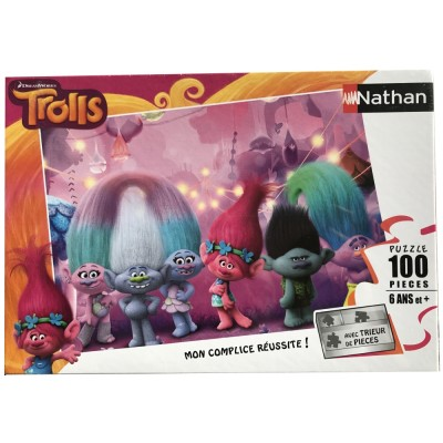 Puzzle Trolls Nathan 86739 100 Pieces Jigsaw Puzzles