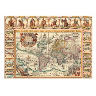 Puzzle antique world map dino 56106 2000 pieces jigsaw puzzles puzzle antique world map dino 56106 2000 pieces jigsaw puzzles world maps and mappemonde jigsaw puzzle gumiabroncs Image collections