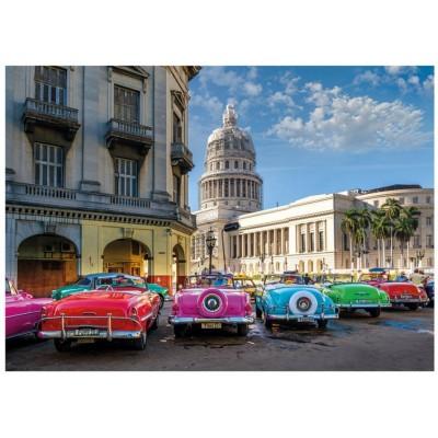 62962 Puzzle Dino 1000 pièces-vétérans de Cuba