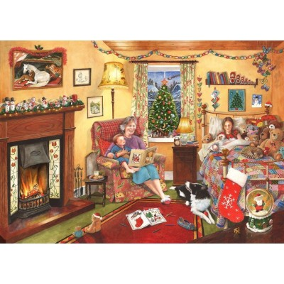 puzzle christmas collectors edition no11 a story for christmas the house of puzzles 3800 1000 pieces jigsaw puzzles and accessories exclusive jigsaw