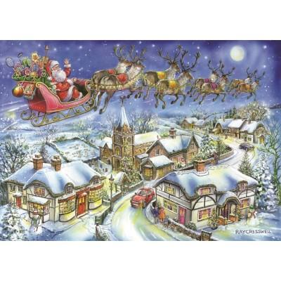 Christmas Jigsaw Puzzles.Christmas Collectors Edition No 13 Christmas Eve