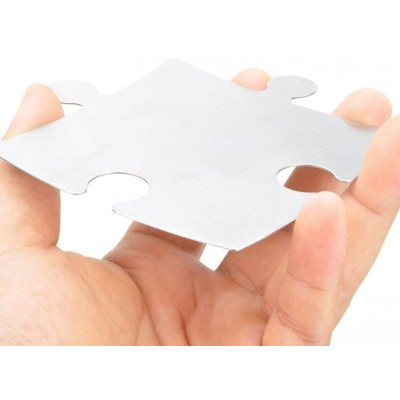 Puzzle 4 Metal Coasters Cook 005 Pieces Various Accessories