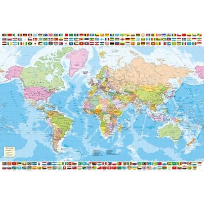 puzzle political worldmap educa 17117 1500 pieces jigsaw puzzles world maps and mappemonde jigsaw puzzle