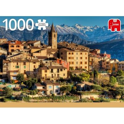 Alps near Cote d'Azur 1000 Piece Jigsaw