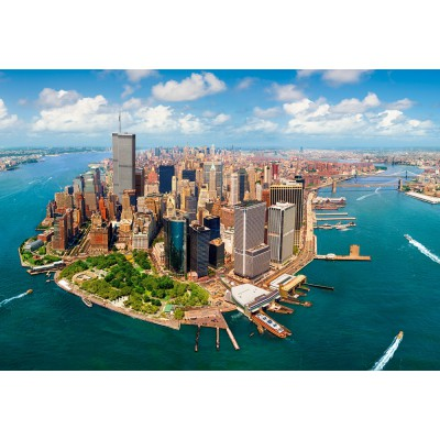 949f724c380d Puzzle New York City before 9 11 Castorland-200573 2000 pieces Jigsaw  Puzzles - Towns and Villages - Jigsaw Puzzle