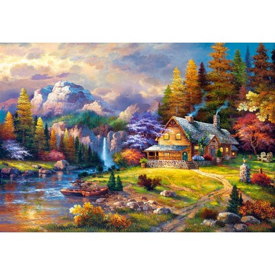 Puzzle Cottage Mountain Hideaway Castorland 151462 1500