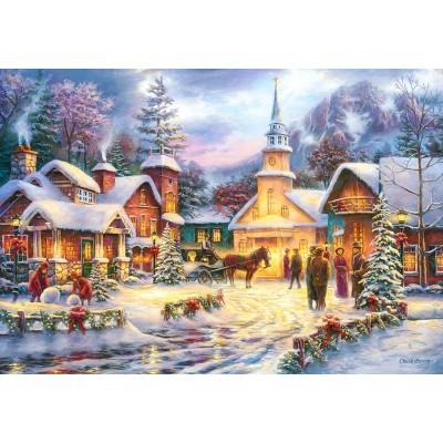 Puzzle Faith runs Deep Castorland-151646 1500 pieces ...