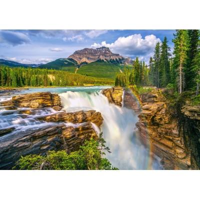 puzzle sunwapta falls canada castorland 53117 500 pieces jigsaw