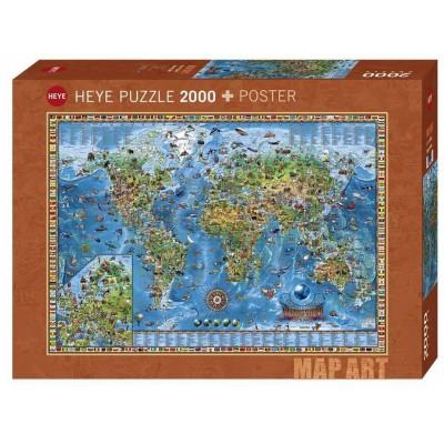 puzzle rajko zigic amazing world heye 29846 2000 pieces jigsaw puzzles world maps and mappemonde jigsaw puzzle