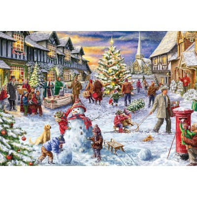 Christmas Jigsaw Puzzles.Marcello Corti A White Christmas