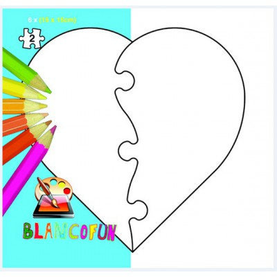 6 Heart Puzzles To Decorate Oneself PuzzelMan 331 2 Pieces Creative Jigsaw