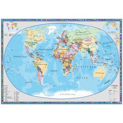 Puzzle political world map schmidt spiele 58186 1000 pieces jigsaw puzzle schmidt spiele 58186 political world map gumiabroncs Choice Image