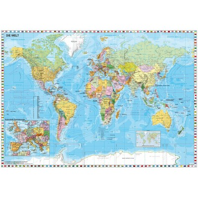 Puzzle world map in german schmidt spiele 58289 1500 pieces jigsaw puzzle world map in german schmidt spiele 58289 1500 pieces jigsaw puzzles world maps and mappemonde jigsaw puzzle gumiabroncs Choice Image