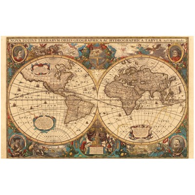 Jigsaw puzzle 5000 pieces ancient world map ravensburger 17411 ravensburger 17411 jigsaw puzzle 5000 pieces ancient world map gumiabroncs Image collections