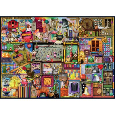 Puzzle Colin Thompson Ravensburger 19412 1000 Pieces