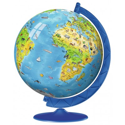 3d jigsaw puzzle world map in italian ravensburger 12340 180 ravensburger 12340 3d jigsaw puzzle world map in italian gumiabroncs Images