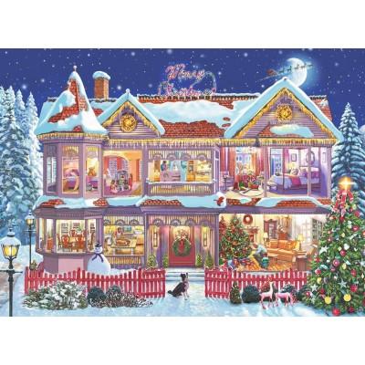 Christmas House.The Christmas House
