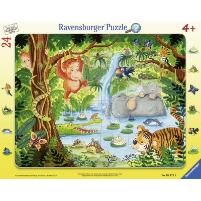 Ravensburger Harmony in The Jungle Jigsaw Puzzle 500 Piece