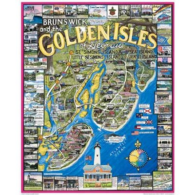 Jigsaw puzzle 1000 pieces brunswick and the golden isles jigsaw puzzle 1000 pieces brunswick and the golden isles georgia usa white mountain 128 1000 pieces jigsaw puzzles world maps and mappemonde gumiabroncs Gallery