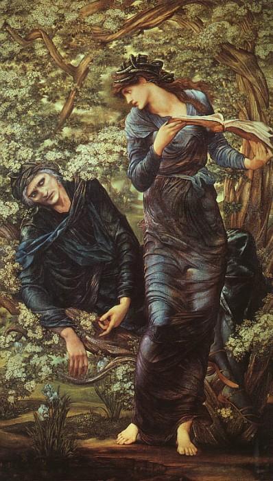 Puzzle Edward Burne Jones The Beguiling Of Merlin 1872