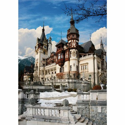 Jigsaw Puzzle 1000 Pieces Romania Peles Castle Dtoys