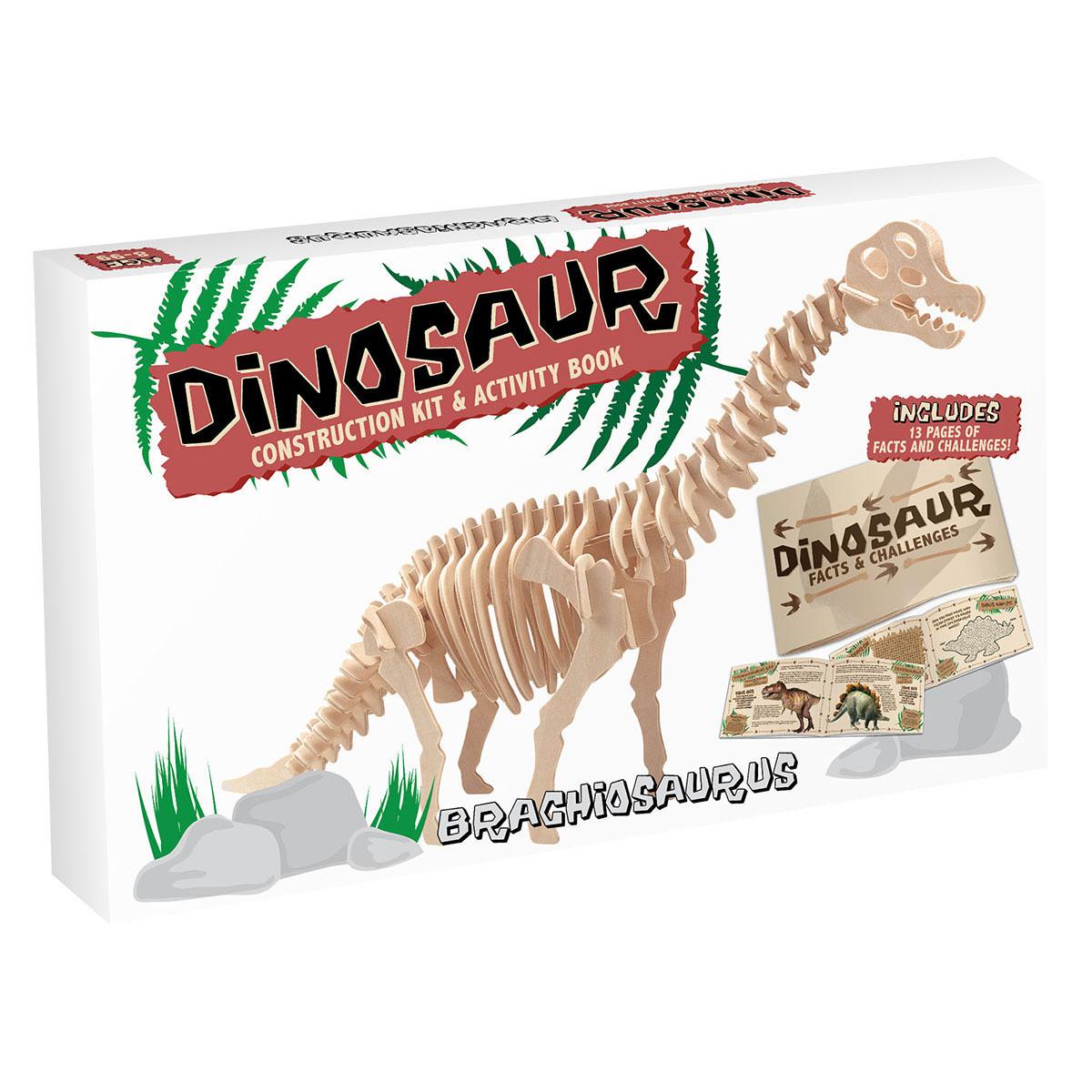 3d Wooden Jigsaw Puzzle Brachiosaurus Large