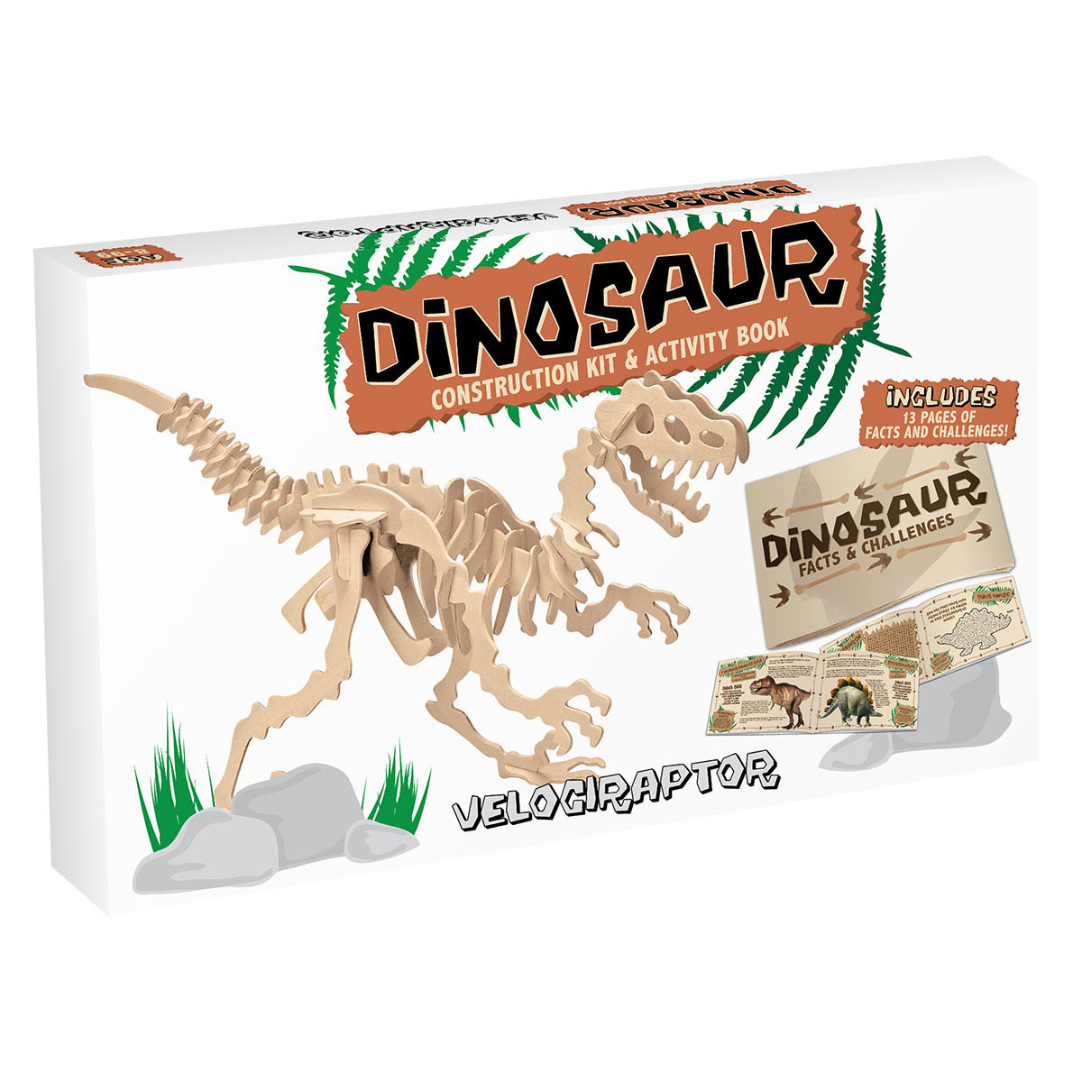 3d wooden jigsaw puzzle velociraptor large professor puzzle