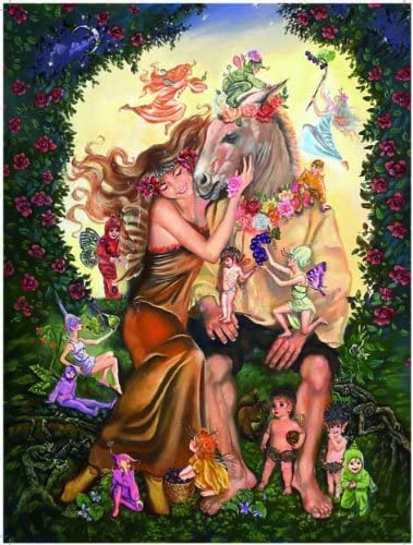 Puzzle Ricordi-50029 Judy Mastrangelo - Bottom and Titania