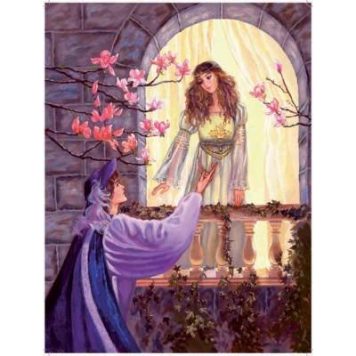 Puzzle Ricordi-50043 Judy Mastrangelo - Romeo and Juliets balcony