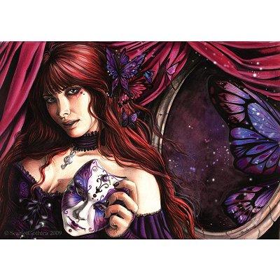 Puzzle Ricordi-50302 Scarlet Gothica - Masquerade