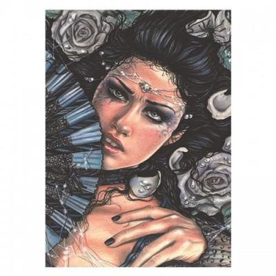 Puzzle Ricordi-50326 Scarlet Gothica - Vanitas memento Mori