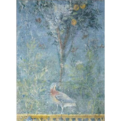 Puzzle Ricordi-50722 Romanik Art - Bird in the Garden