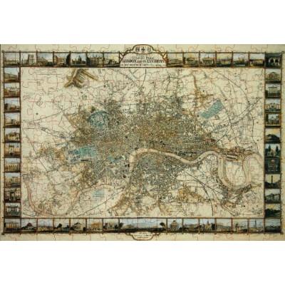Puzzle Ricordi-51026 Plan of London