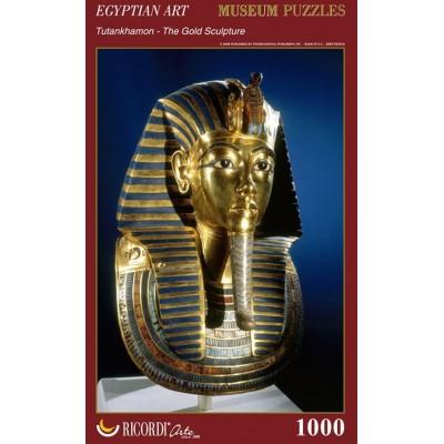 Puzzle Ricordi-51446 Egyptian Art - Tutankhamon - The Gold Sculpture