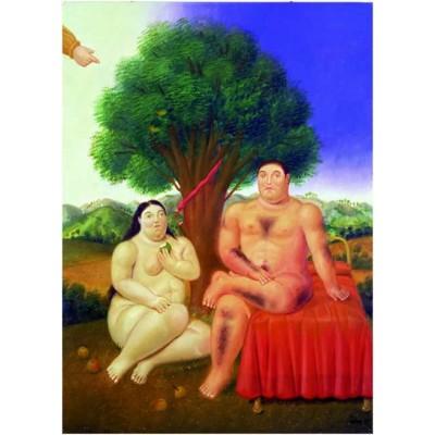 Puzzle Ricordi-51750 Botero - Adam and Eve