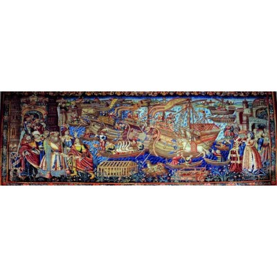 Puzzle Ricordi-52337 Renaissance Art - Vasco da Gama arrives in Calcutta