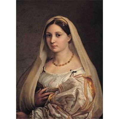 Puzzle Ricordi-52635 Raffaello - La Donna Velata, 1516