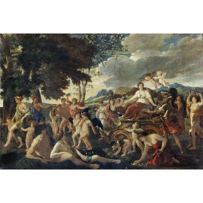 Puzzle Ricordi-59825 Nicolas Poussin - Le triomphe de Flore