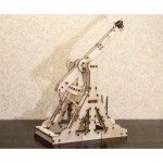 Eco-Wood-Art-01 3D Wooden Jigsaw Puzzle - Trebuchet
