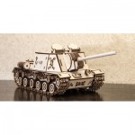 Eco-Wood-Art-07 3D Wooden Jigsaw Puzzle - Tank ISU152