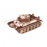 3D Wooden Puzzle - Tank T-34-85