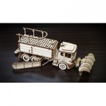 Eco-Wood-Art-40 3D Wooden Jigsaw Puzzle - Snowtruck